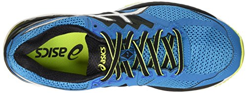 Asics Gt-2000 4 - Entrenamiento y correr Hombre Azul (Blue Jewel/Black/Safety Yellow)