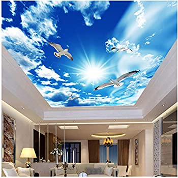 Amazon Com Xbwy Custom Large Ceiling Zenith Mural Wallpaper 3d