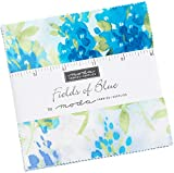 Fields of Blue Charm Pack by Moda Classics; 42-5