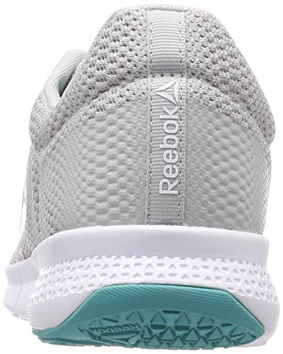Chaussures turquoise solid Gris wht Grey Teal Reebok Gry Flexile De Clair Fitness blanc skull stark gris Homme 000 z454HwZxq
