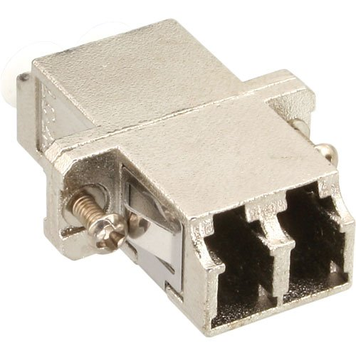with Flange Plata InLine Duplex LC//LC MultiMode, with Flange, 2 x LC, 2 x LC, Hembra//Hembra MultiMode Adaptador para Cable