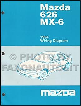 Mazda 626 Mx-6 1994 Wiring Diagram-- O E M Part #9999-95 ... on 94 mazda 626 4 cylinder, 94 mazda mx7, 94 mazda b2200, 94 mazda millenia, 94 mazda mx5, 94 mazda mx-6 intrio, 94 mazda b2000, 94 mazda b3000, 94 mazda b1600, 94 mazda miata, 94 mazda navajo, 94 mazda rx7, 94 mazda b4000, 94 mazda mx3, 94 mazda mx-6 baby blue, 94 mazda mx-6 ls, 94 mazda mpv, 94 mazda mx-6 parts, 94 mazda b2600,