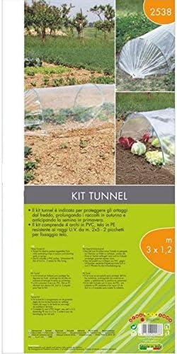 Kit de t/únel de PVC Verdemax 2538 300 x 120 cm