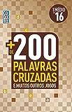 capa de Mais de 200 Palavras Cruzadas - Livro 16