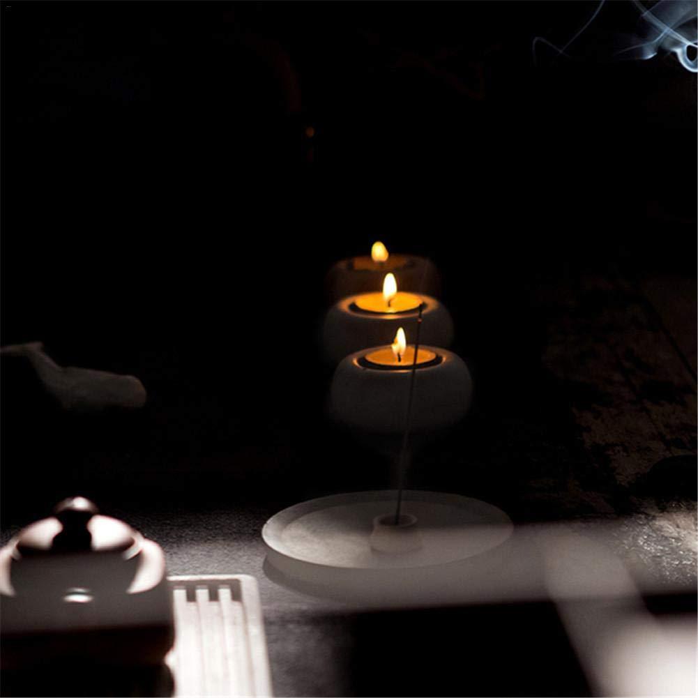 Zuf/ällige Farbe luukiy 3D Silikon Kerzenhalter Hochzeitsdekoration Bar Handgemachte Leuchterform Kreative Fleischigen Blumentopfform