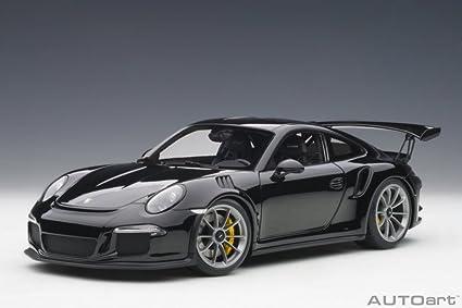 Amazon Com Porsche 911 991 Gt3 Rs Gloss Black Auto Art 78164 1