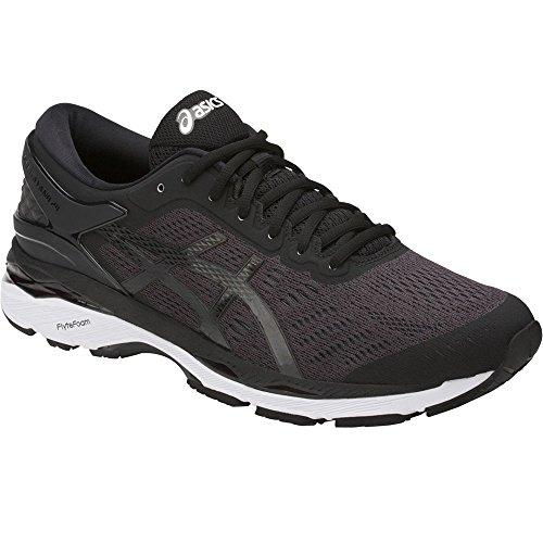 ASICS Mens Gel-Kayano 24 Running Shoe, Black/Phantom/White,