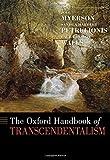 emerson and thoreau - The Oxford Handbook of Transcendentalism (Oxford Handbooks)