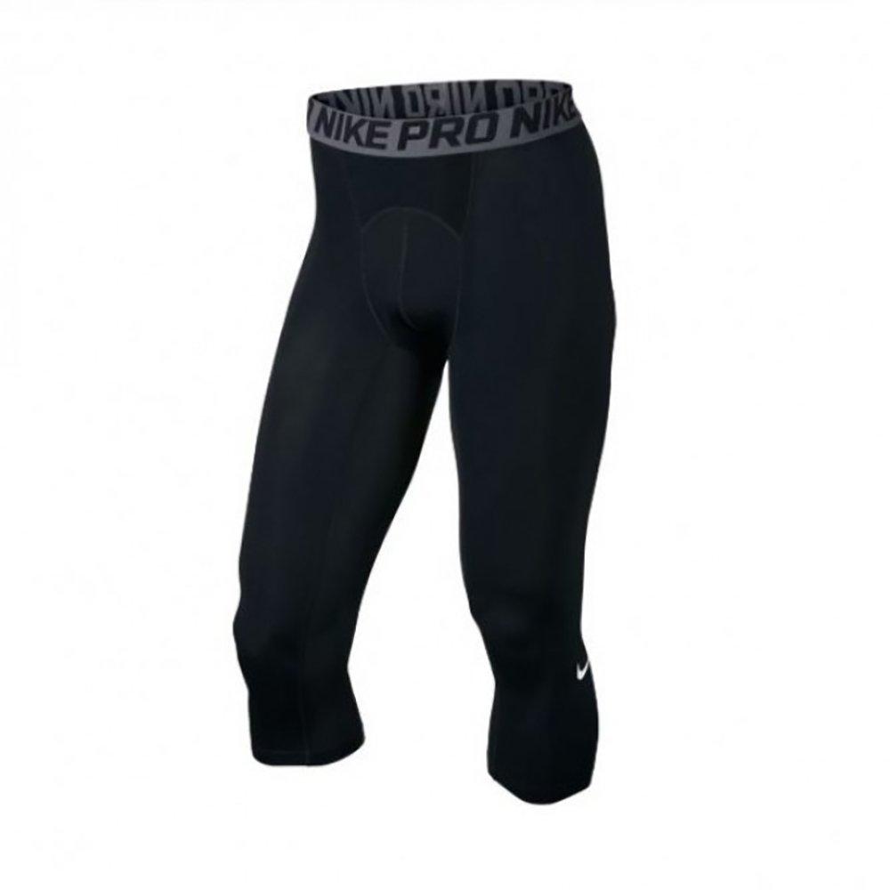 NIKE Men's Cool Three Quarter Tight Pants (Small)