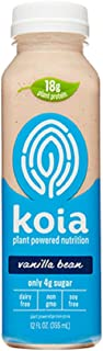 product image for Koia Plant Powered Nutrition Dairy Free Vanilla Bean Drink, 12 Ounce (pack Of 6)
