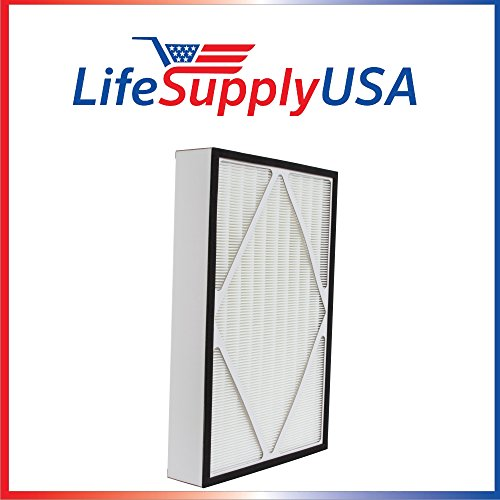 (LifeSupplyUSA True HEPA Replacement Filter Fits Hamilton Beach 04913, 04162, and 04163)