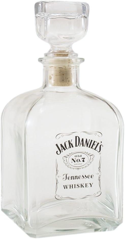 Jack Daniel's - Decantador cuadrado con logotipo