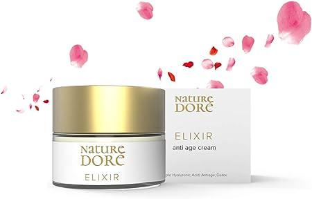 Crema Facial Hidratante con Ácido Hialurónico Puro de 3 Pesos Moleculares+ Agua de Rosa Bio+ Complejo Detox|Cremas de Dia-Noche Natural para Mujer-Hombre|Antiarrugas|Organica|Contorno de Ojos|Antiedad