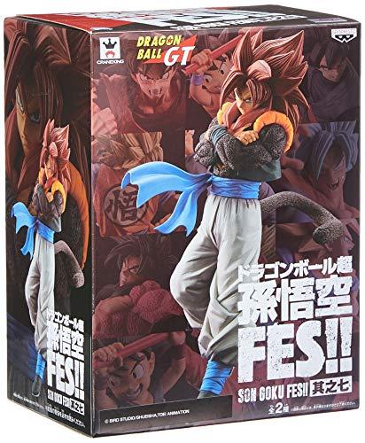 Action Figure - Dragon Ball Gt - Gogeta 4 Bandai Banpresto Multicor