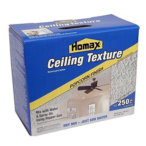 Ceiling Dry Mix Texture White, 13 lb, Popcorn Texture ()