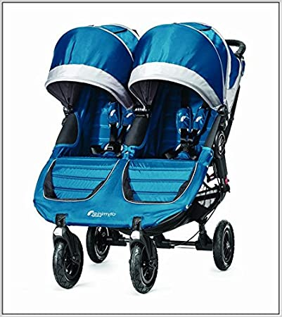 Baby Jogger 2015 City Mini Gt Double Stroller Teal Gray