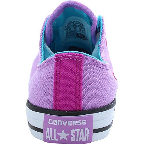 Converse Chuck Taylor All Star Loopholes Junior Fuchsia Glow Textile Trainers Fuchsia Glow