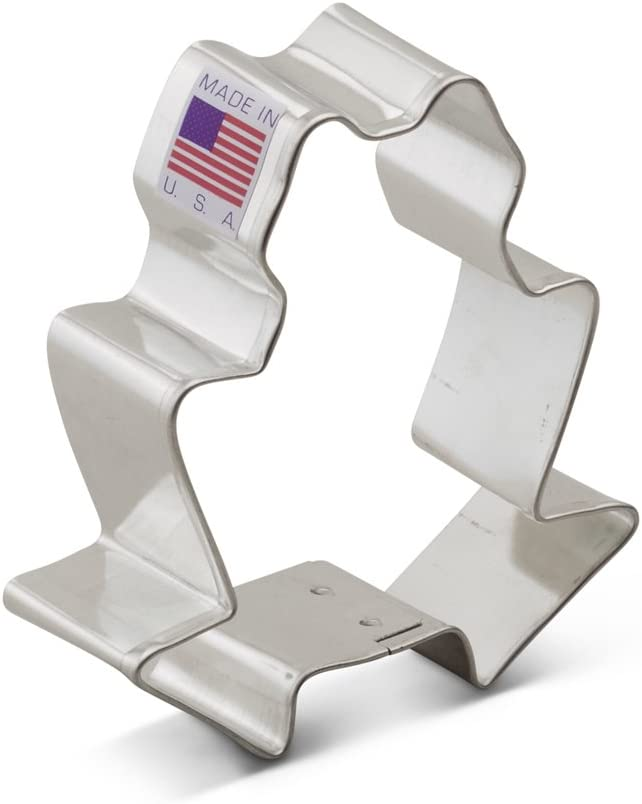 Ann Clark ~ NUMBER THREE ~ Tin Plated Steel Cookie Cutters USA