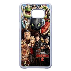 Lovely How to Train Your Dragon Phone Case For Samsung Galaxy S6 Edge Plus B57361