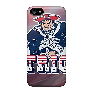 For BfA4099yNRy New England Patriots Protective Cases Covers Skin/iphone 5/5s Cases Covers
