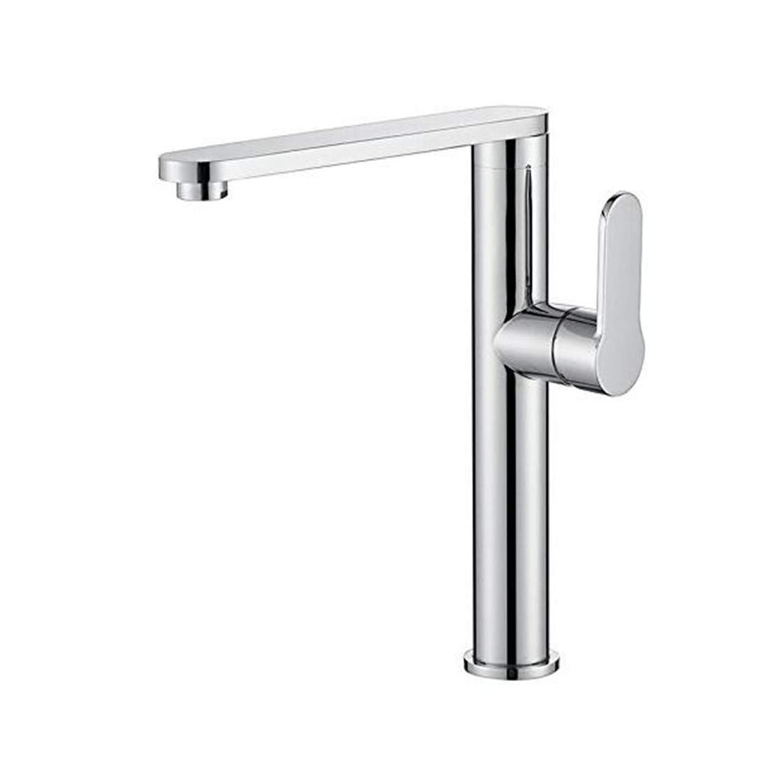 Faucet Modern Plated Mixing Faucet Contemporary Chrome Polished Brass Bathroom Kitchen Lavatory Vanity Vessel Sink Faucet Basin Mixer Tap Faucet