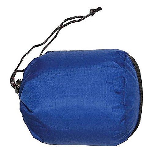 "Equinox Bilby Stuffsack 10"" X 21"" Blue"