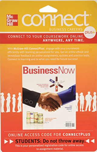 Connect 1-Semester Access Card for Business Now