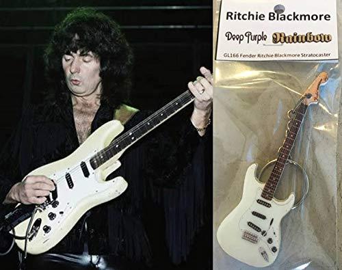 Keychain Guitar Fender Ritchie Blackmore Stratocaster GENESWEB