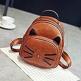 Basilion Retro Cat Cute Daily Field Trip Backpack