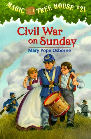 Civil War on Sunday (Magic Tree House, #21) - Book #21 of the Magic Tree House
