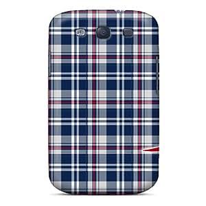 New Premium Flip Case Cover New England Patriots Skin Case For Galaxy S3