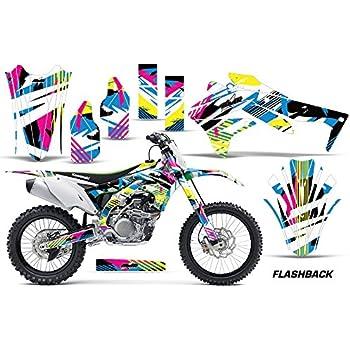 Kawasaki KXF 450 2017 KX450F 2016 graphics kit motocross decals stickers KX450F