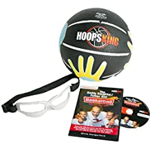 "Father Son/Daughter Youth Basketball Fun Pack with Coaching DVD, 27.5 ""SkilCoach ball, & Basketball Dribble Glasses"