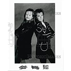 Press Photo Musicians Travis Tritt Double Trouble Tour with Marty Stuart