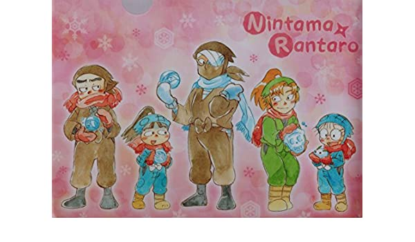 Amazon.com: Nintama Rantaro Clear File A (Tasogaredoki Ninja ...
