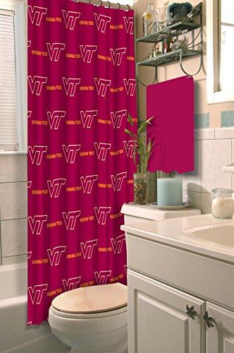 Virginia Shower Curtain (Virginia Tech OFFICIAL Collegiate, 72x 72 Shower Curtain)
