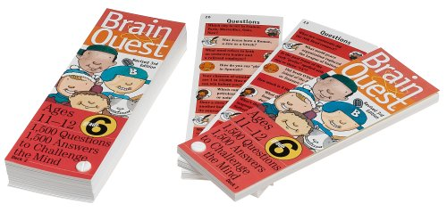 Brain Quest Card Deck (BRAIN QUEST 6TH GR. CARD DECK)