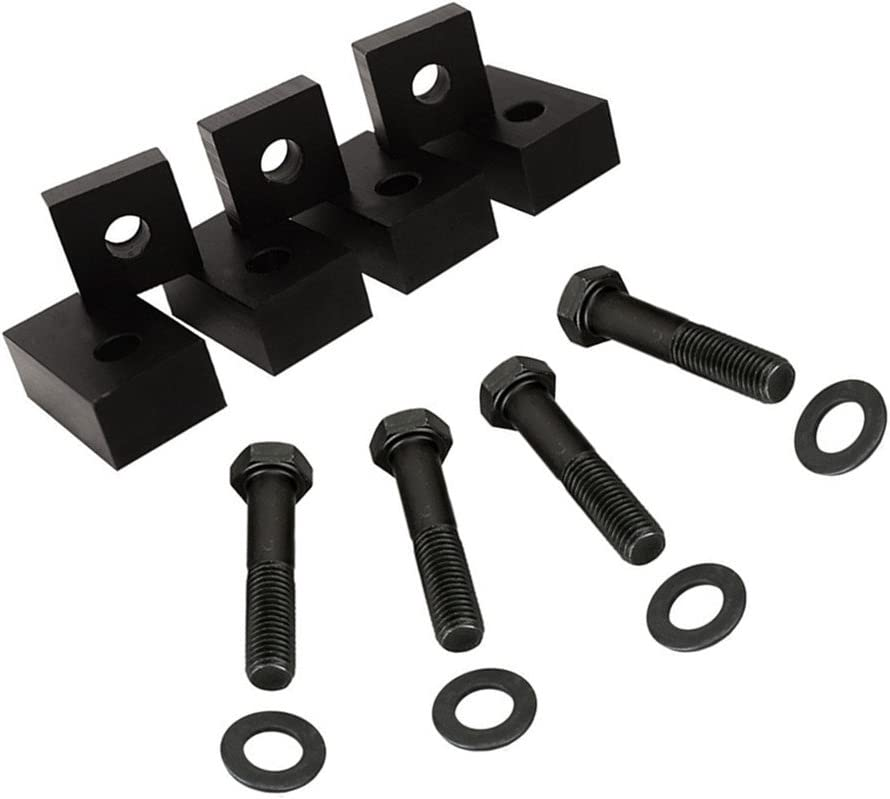 Black Aluminum Rear Seat Recline Kit with Bolts and Washers for Jeep Wrangler JK JKU JL JLU Rubicon Sahara X Sport Interior Accessories Parts 2007-2017 2018
