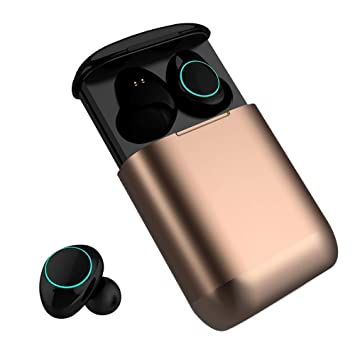 Auriculares Bluetooth Kingsky Auriculares Verdaderamente Inalámbricos Mini Auriculares In-Ear Auriculares sin cables con Control Táctil y Manos Libres ...