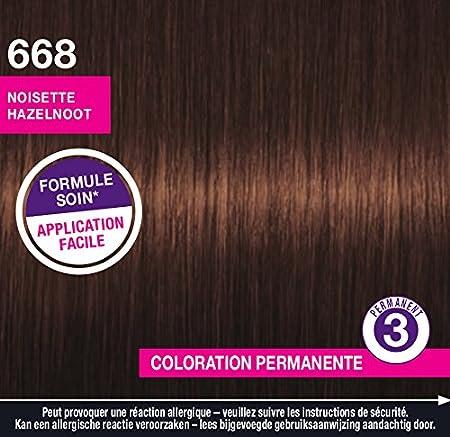 Schwarzkopf Perfect Mousse – Coloración permanente – Hazel 668