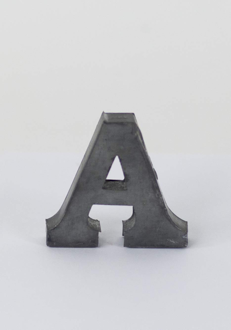 Vagabond Vintage, Individually Selected 2-inch Zinc Letter - &
