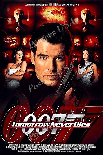 Posters USA - 007 Tomorrow Never Dies James Bond Movie Poste