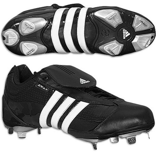 Adidas Hombres Excelsior Metal Cleats (low) Negro / Blanco