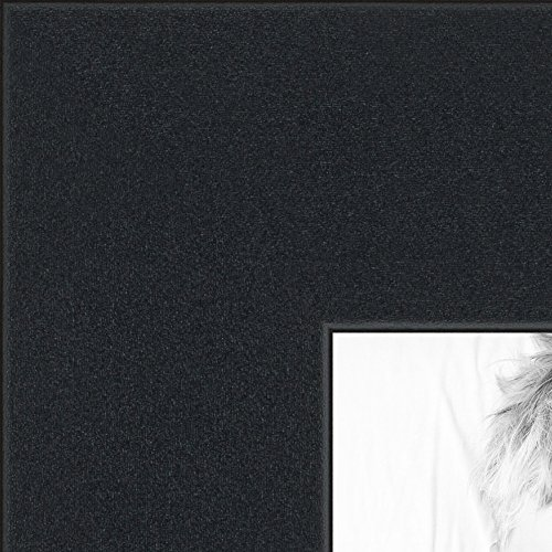(ArtToFrames 59x84cm Satin Black Picture Frame, CMWOMFRBW26079-59x84)
