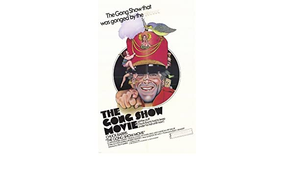 The Gong Show Movie Poster Movie 11x17 Chuck Barris Robin