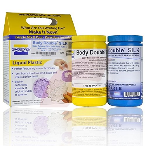 Body Double SILK Lifecasting Silicone - Pint Unit (Theatrical Moustaches And Beards)