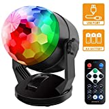 Best Disco Lights - Sound Activated Party Lights with Remote Control, Battery Review