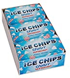 ICE CHIPS Xylitol Candy Tins (Peppermint, 6 Pack) - includes BAND as shown