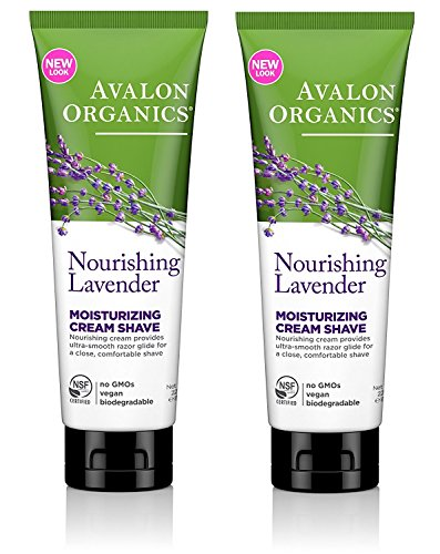 Lavender Cream Shave 8 OZ (Neat Feet Moisturizing Foot Cream)
