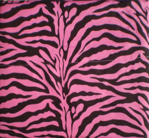 Zebra Striped Sheets - Hot Pink Zebra Print Queen Size Sheet Set 4 PC Safari Animal Print Bedding